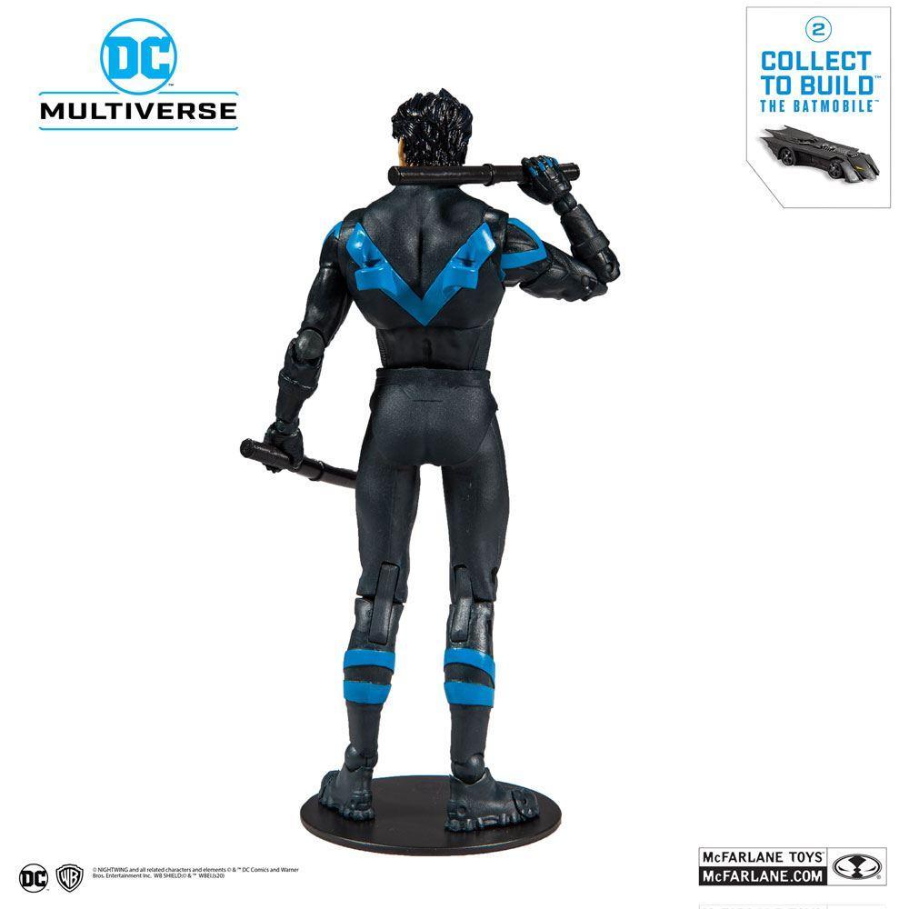 DC REBIRTH - Nightwing Better Than Batman - Figurine articulée 18cm_3