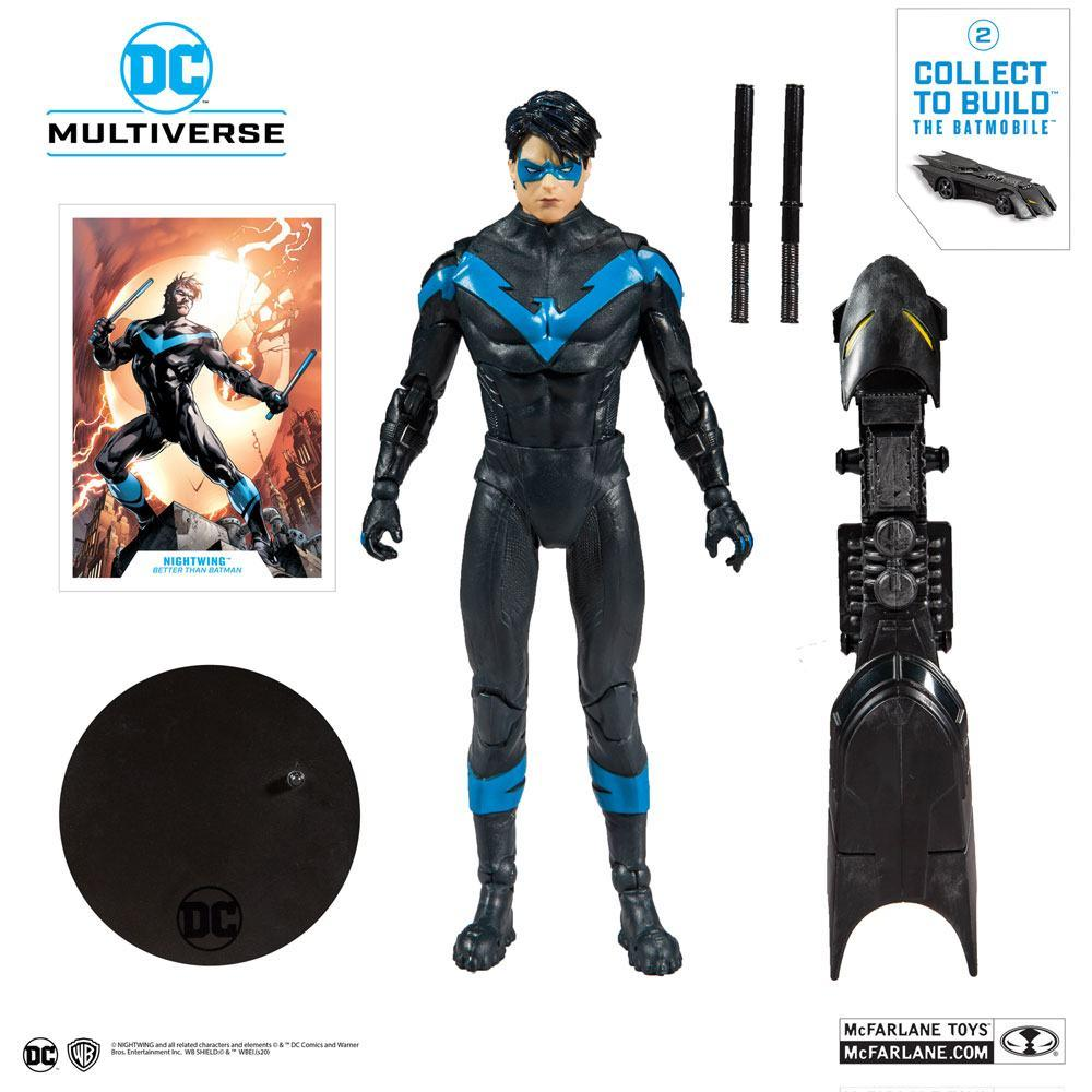 DC REBIRTH - Nightwing Better Than Batman - Figurine articulée 18cm_5