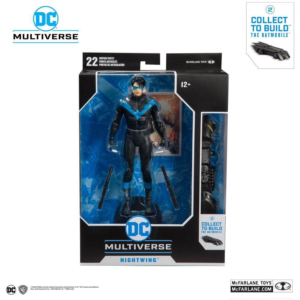 DC REBIRTH - Nightwing Better Than Batman - Figurine articulée 18cm_6