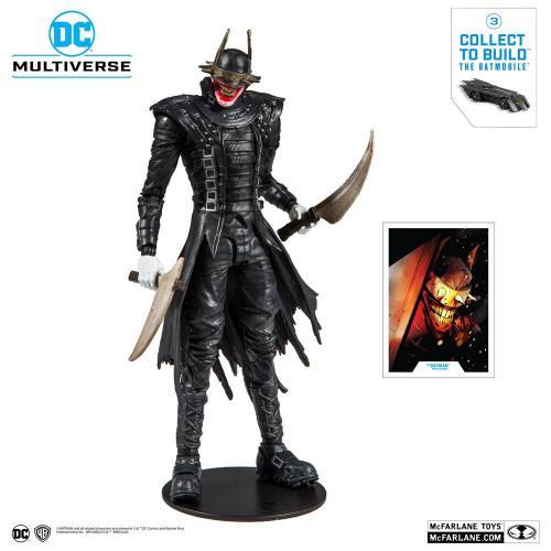 DC COMICS - The Batman who Laughs - Figurine articulée 18cm