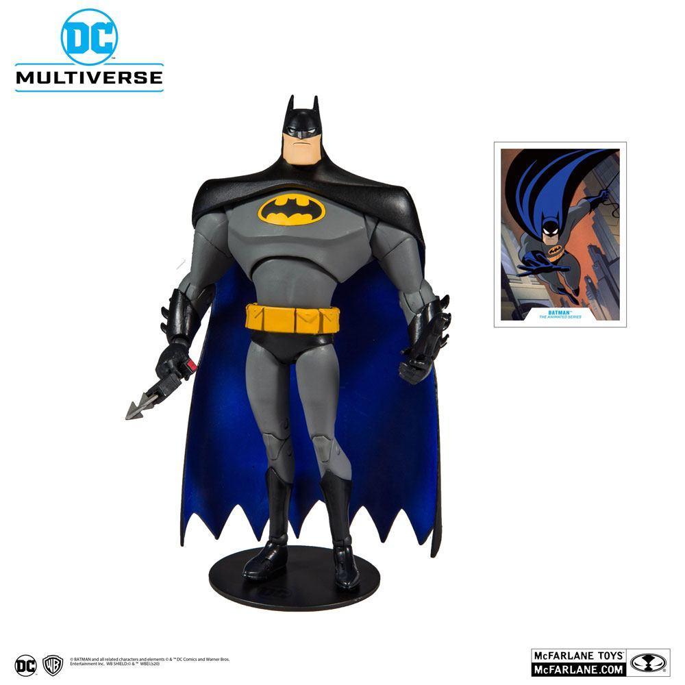 DC COMICS - Batman Animated Series - Figurine articulée 18cm_1