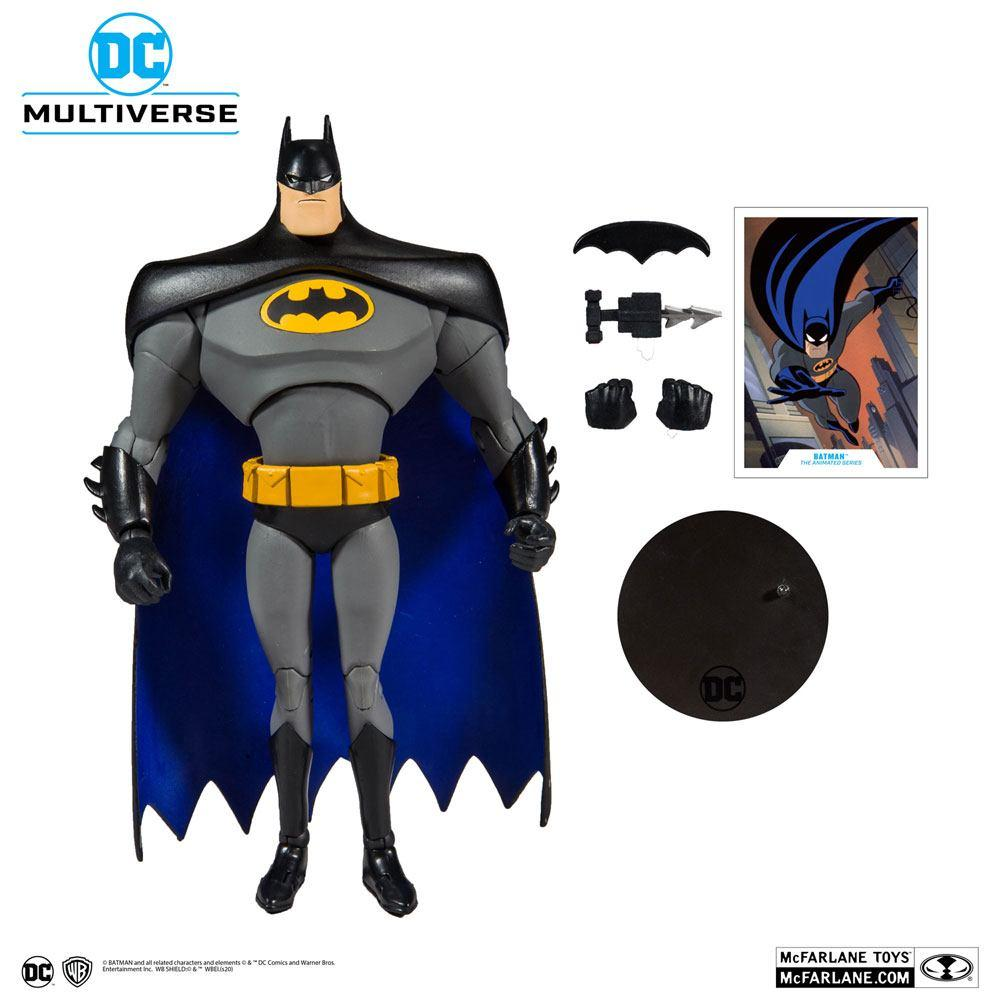 DC COMICS - Batman Animated Series - Figurine articulée 18cm_5