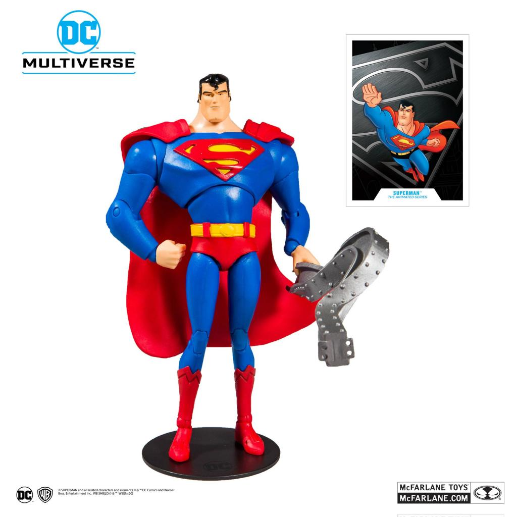 DC COMICS - Superman Animated Series - Figurine articulée 18cm_1