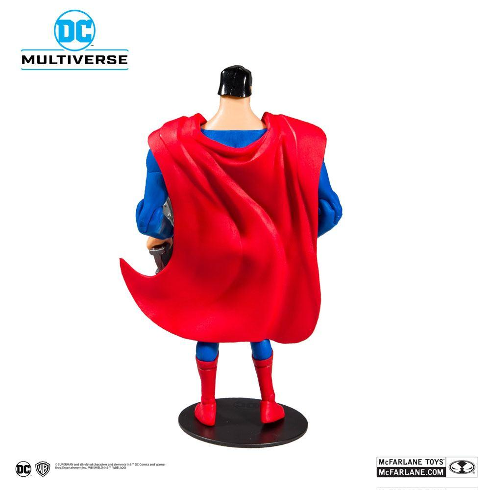 DC COMICS - Superman Animated Series - Figurine articulée 18cm_3