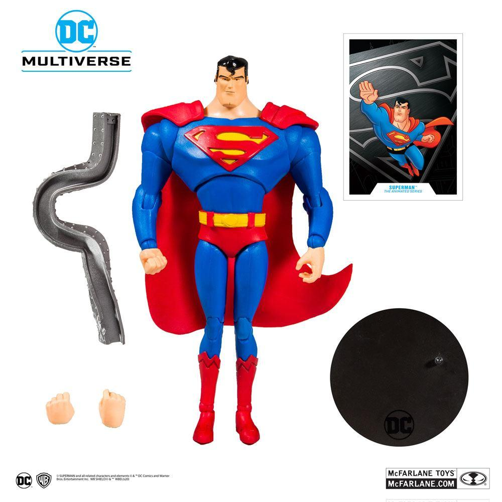 DC COMICS - Superman Animated Series - Figurine articulée 18cm_5