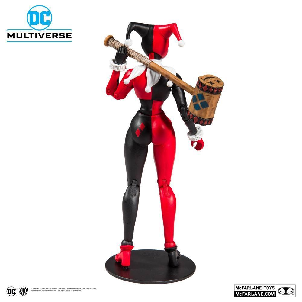 DC REBIRTH - Harley Quinn Classic - Figurine articulée 18cm_3