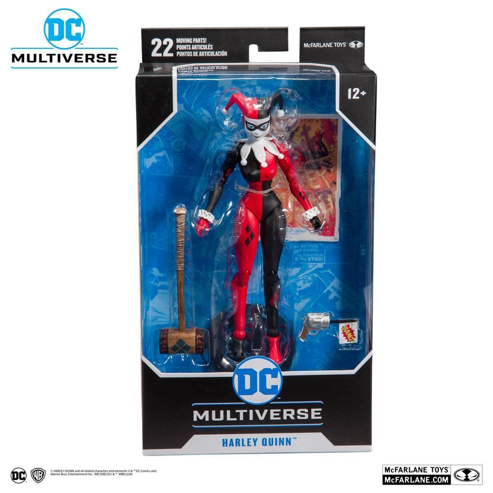 DC REBIRTH - Harley Quinn Classic - Figurine articulée 18cm_6