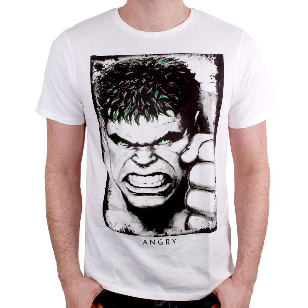 MARVEL - T-Shirt Hulk Eyes (S)