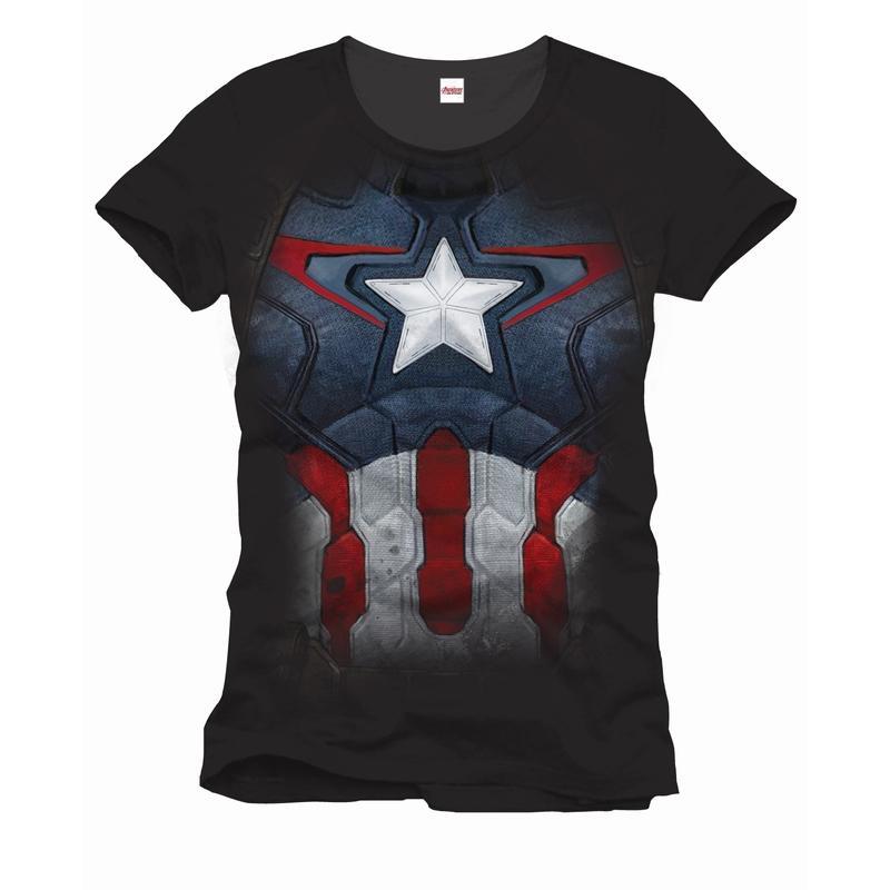 AVENGERS - MARVEL T-Shirt Captain Suit (M)_2