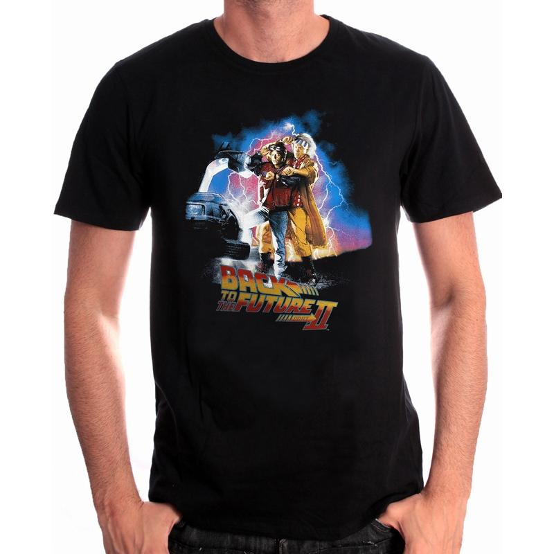 BACK TO THE FUTURE - T-Shirt Poster Back to the Future Part II (L)