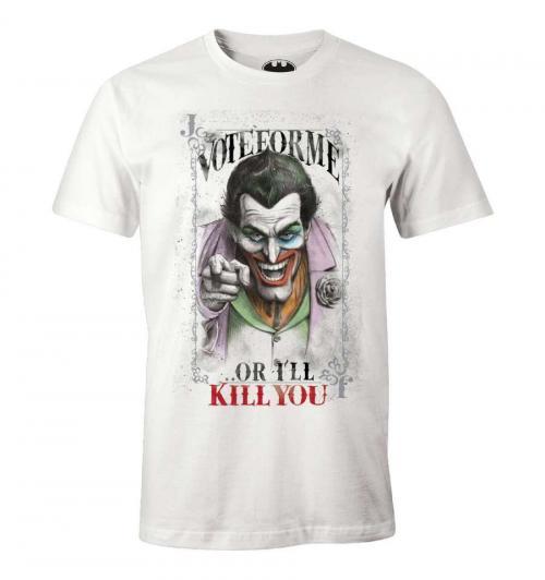 DC COMICS - T-Shirt Vote for me - The Joker (S)