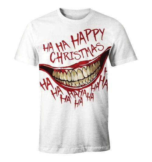 DC COMICS - T-Shirt Happy Christmas - The Joker (XXL)