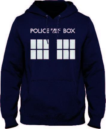 DOCTOR WHO - Sweat Navy Police Box (S)