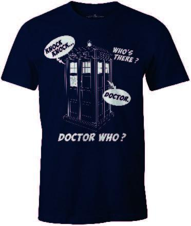 DOCTOR WHO - T-Shirt Knock Knock ... Doctor (S)