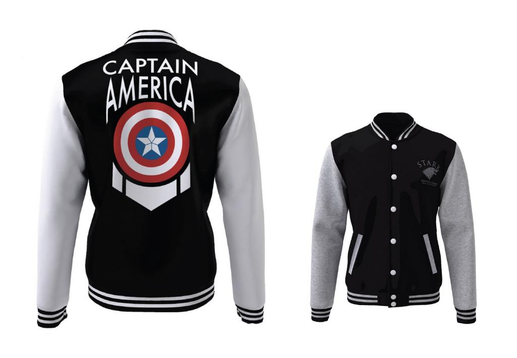 MARVEL - Blouson Teddy Captain America Shield (S)