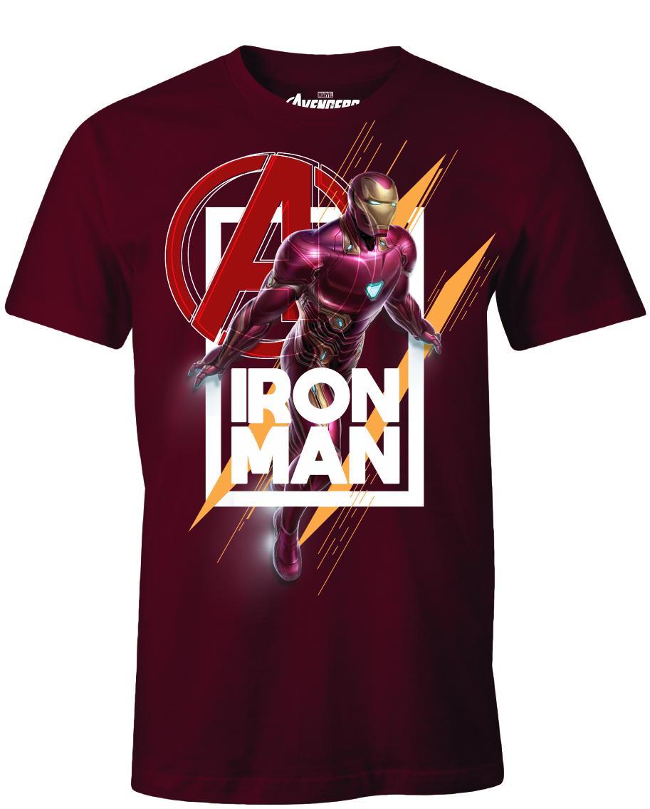 AVENGERS ENDGAME - T-Shirt Iron Man Avenger - Red (M)_1