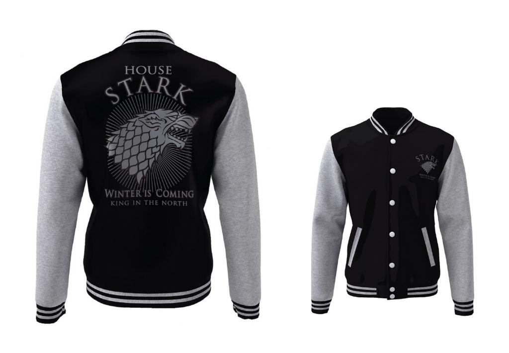 GAME OF THRONES - Blouson Teddy House Stark (S)