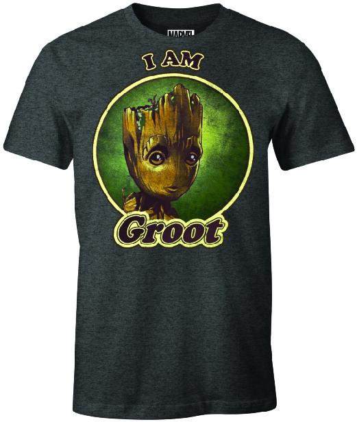 GUARDIANS OF THE GALAXY - T-Shirt I Am Groot (L)_1