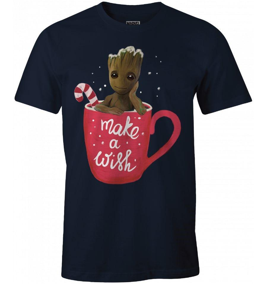GUARDIANS OF THE GALAXY - T-Shirt Groot - Make a Wish (M)_1