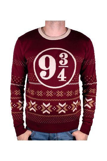 HARRY POTTER  - Sweater Christmas Platform 9 3/4 (XXL)