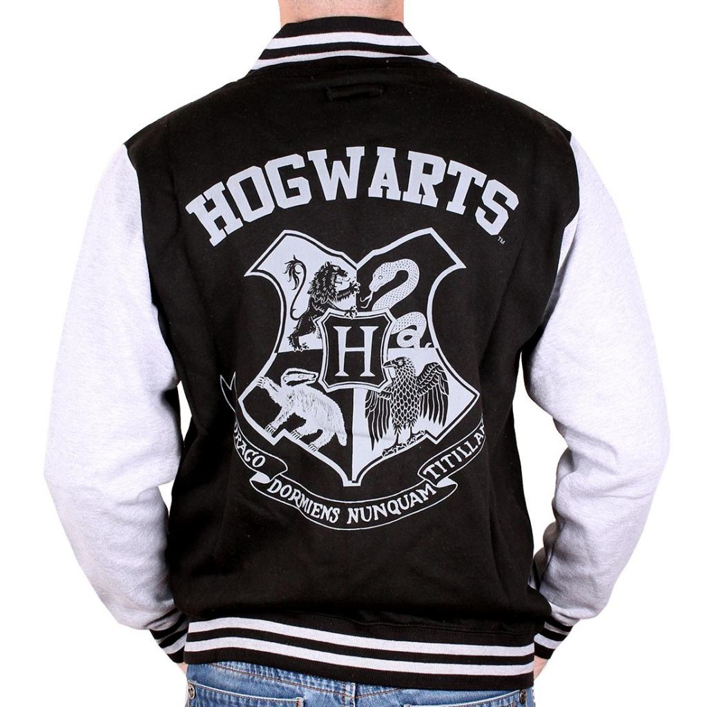 HARRY POTTER - Blouson Teddy Hogwarts (XL)