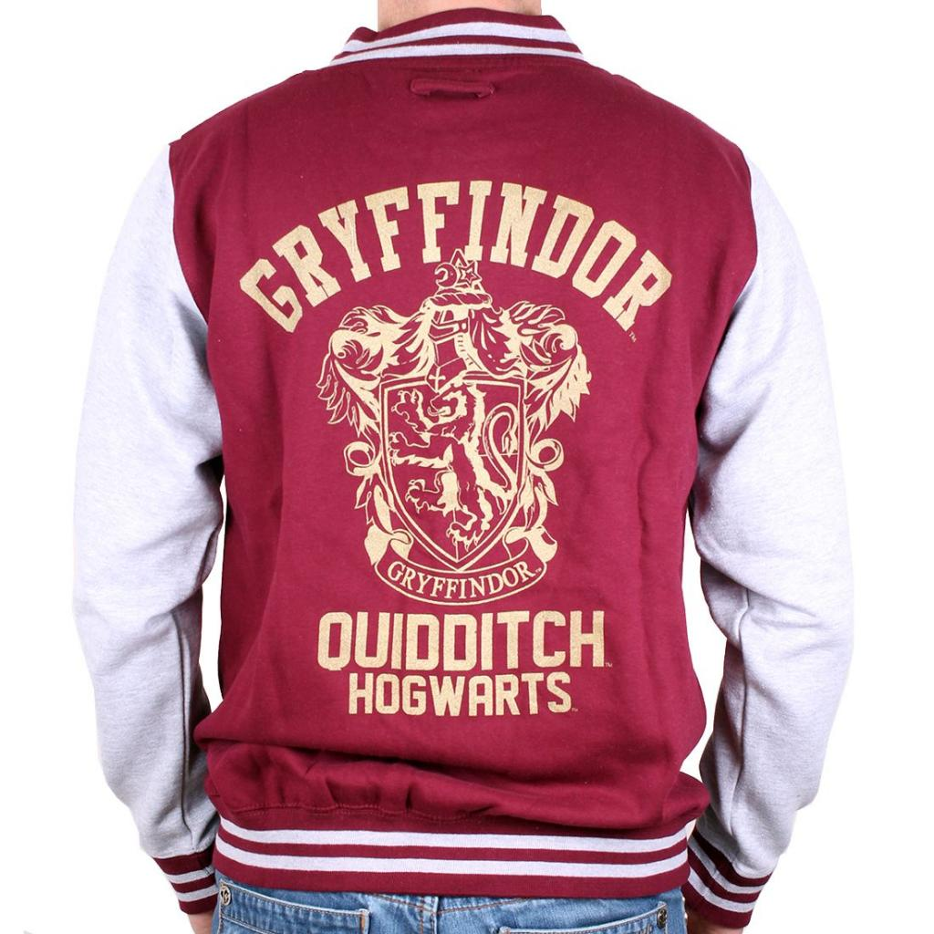 HARRY POTTER - Blouson Teddy Gryffindor (XL)