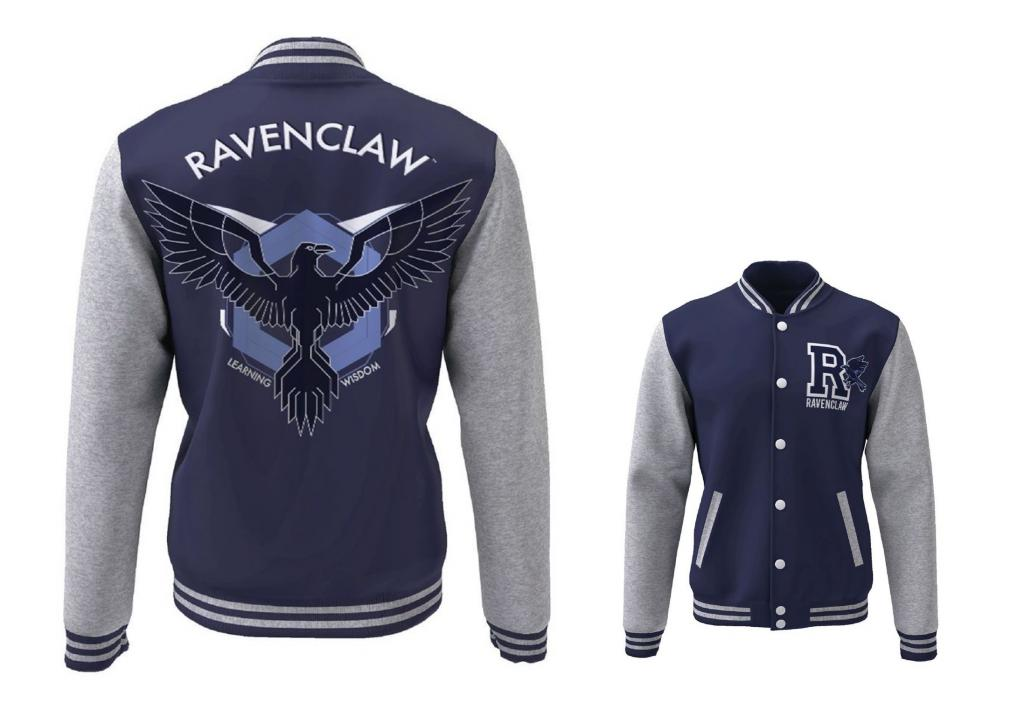 HARRY POTTER - Blouson Teddy Ravenclaw Blazon (S)