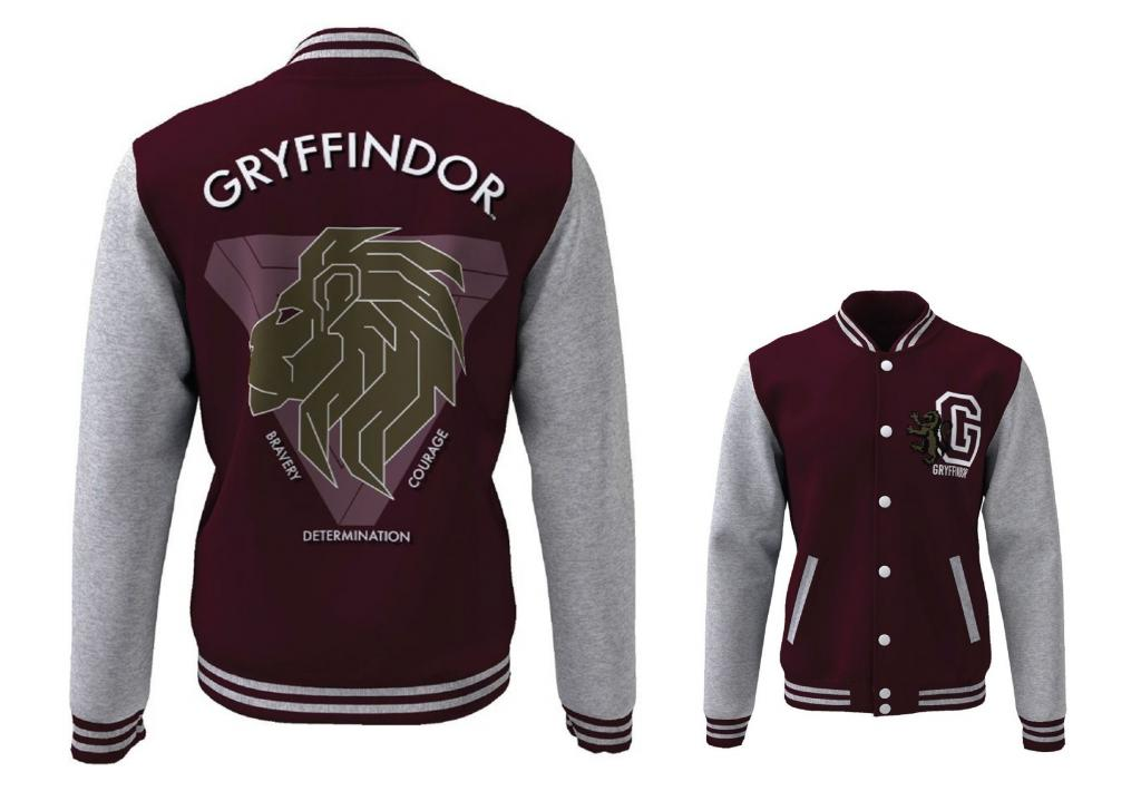 HARRY POTTER - Blouson Teddy Gryffindor Blazon (S)