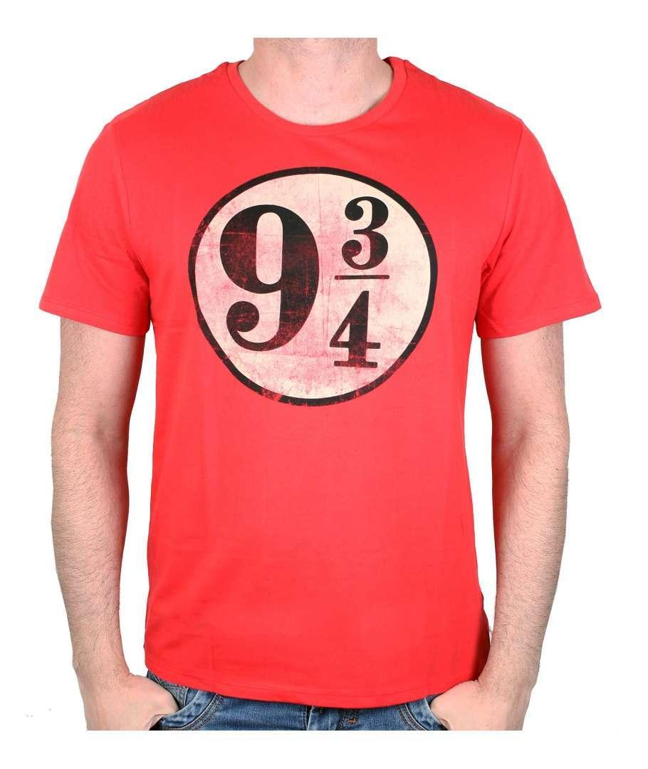 HARRY POTTER - T-Shirt Logo Grunge 9 3/4 (S)