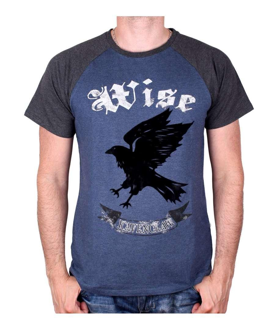HARRY POTTER - T-Shirt Ravenclaw Wise - Blue/Black (S)