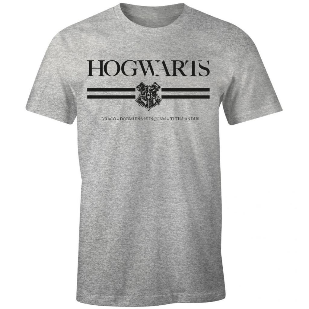 HARRY POTTER - T-Shirt Hogwarts (S)