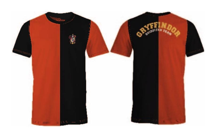 HARRY POTTER - T-Shirt Quidditch Team Gryffindor (M)