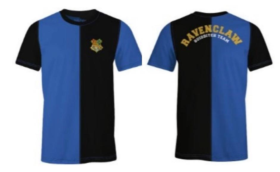 HARRY POTTER - T-Shirt Quidditch Team Ravenclaw (S)