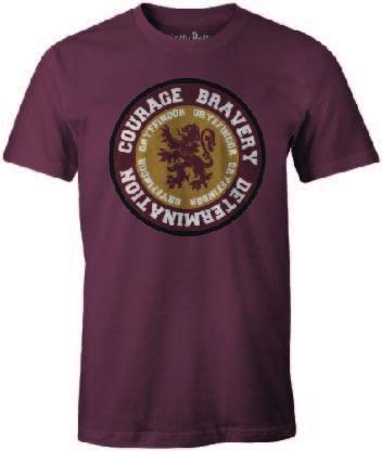 HARRY POTTER - T-Shirt Gryffindor ROUND Courage Bravery ... (XXL)_1