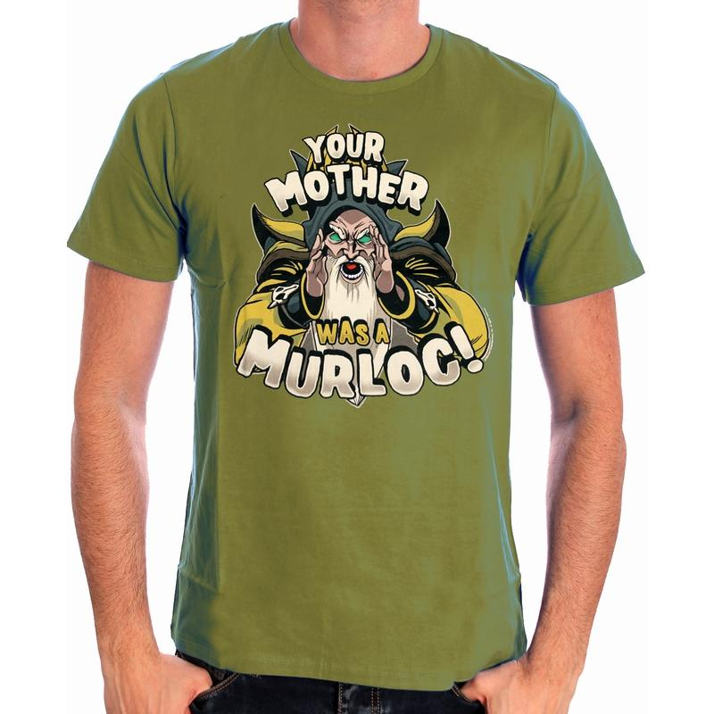 HEARTHSTONE - T-Shirt Your Mother Was a Murloc (S)