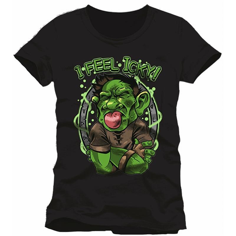 HEARTHSTONE - T-Shirt I Feel Icky (L)
