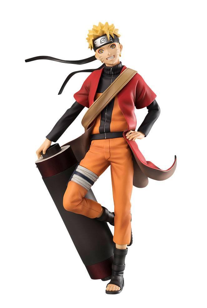 NARUTO SHIPPUDEN - GEM Series Naruto Uzumaki Sennin- 20cm  'Megahouse'