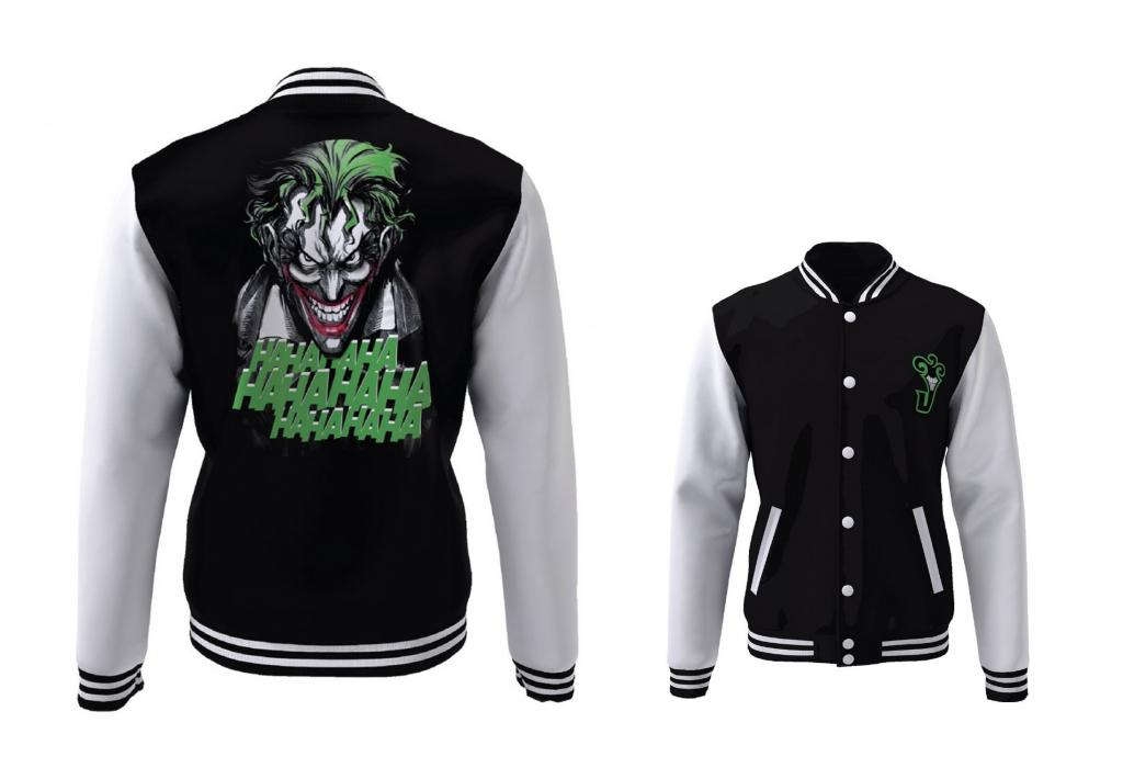 DC COMICS - Blouson Teddy Joker Laugh (L)