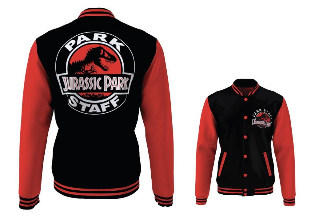 JURASSIC PARK - Blouson Teddy Park Staff (S)