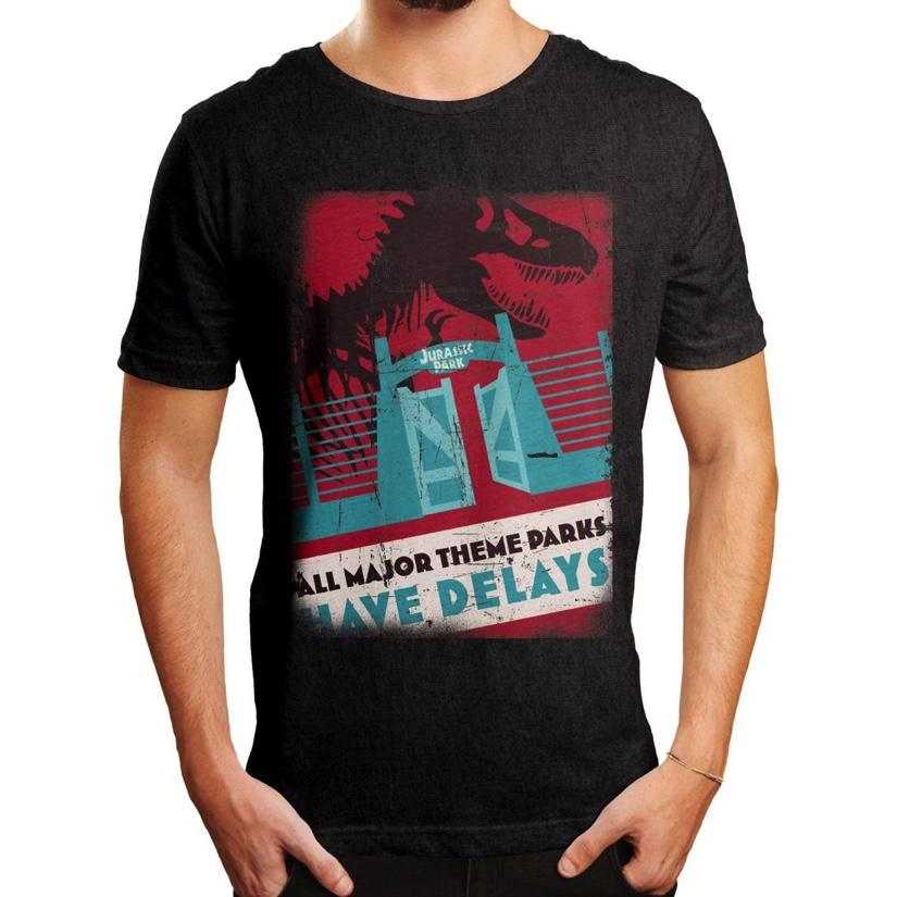 JURASSIC PARK - T-Shirt Have Delays (M)