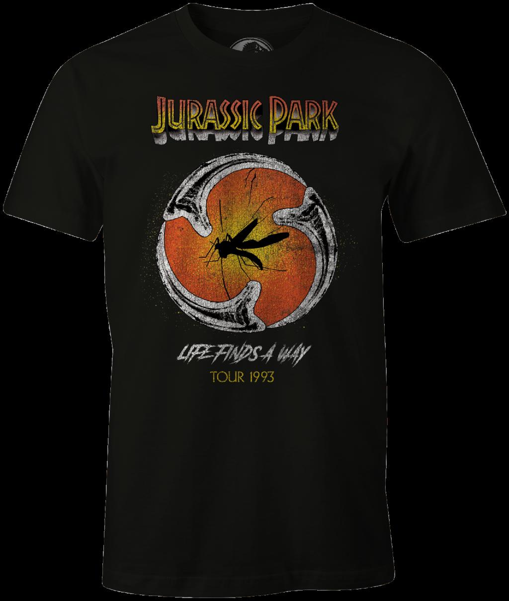 JURASSIC PARK - T-Shirt Moustic Tour 1993 (M)