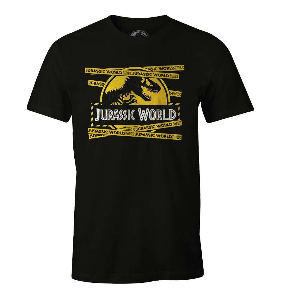 JURASSIC WORLD - T-Shirt Yellow Security Band (XL)