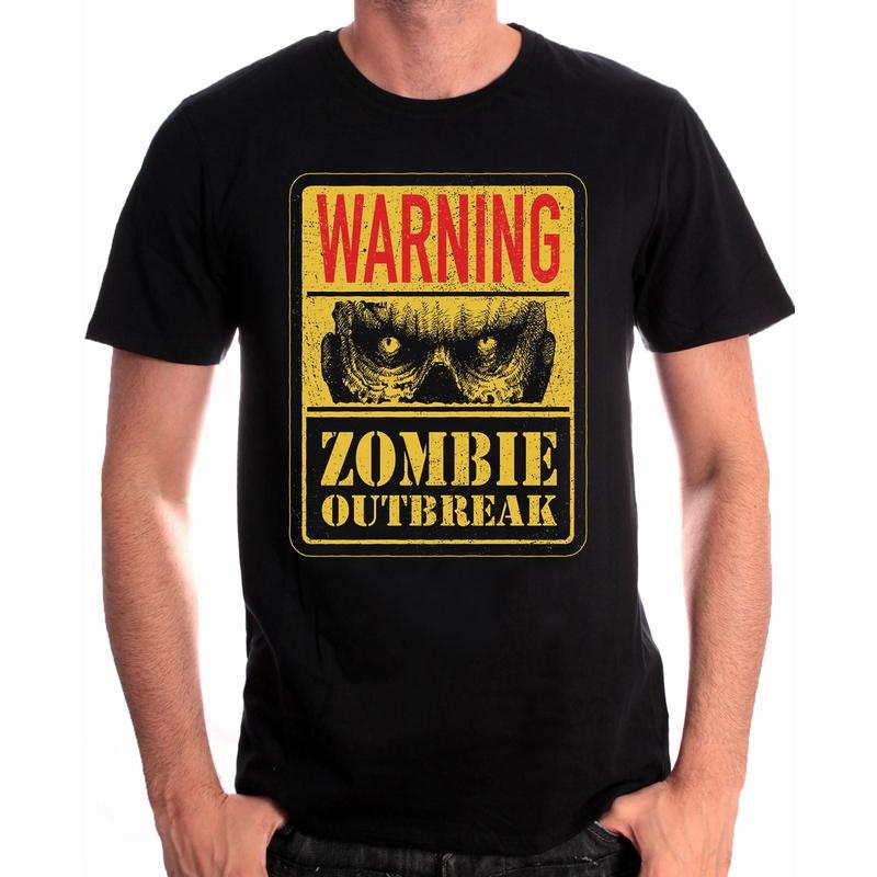 FOR GAMING - T-Shirt Zombie Outbreak (L)