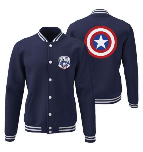 CAPTAIN AMERICA - Shield - Jacket Teddy (XL)
