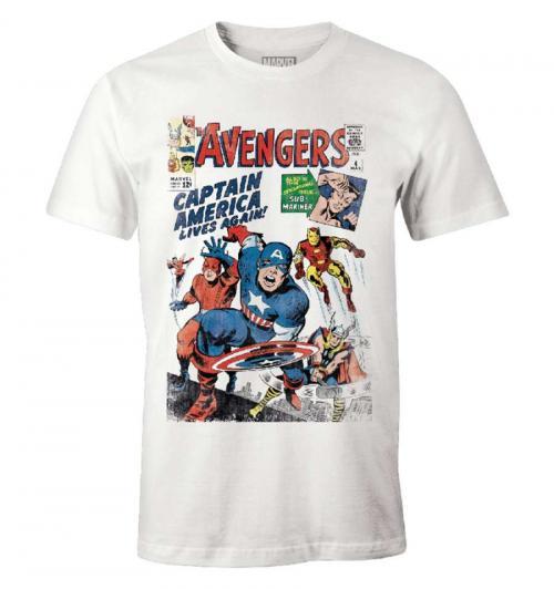 MARVEL - T-Shirt - Avengers - (S)