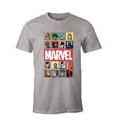 MARVEL - T-Shirt - Marvel Portraits - (XXL)