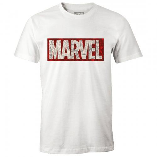 MARVEL - T-Shirt - Logo Marvel - (XXL)