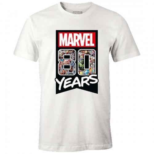 MARVEL - T-Shirt - Marvel 80 years - (XXL)