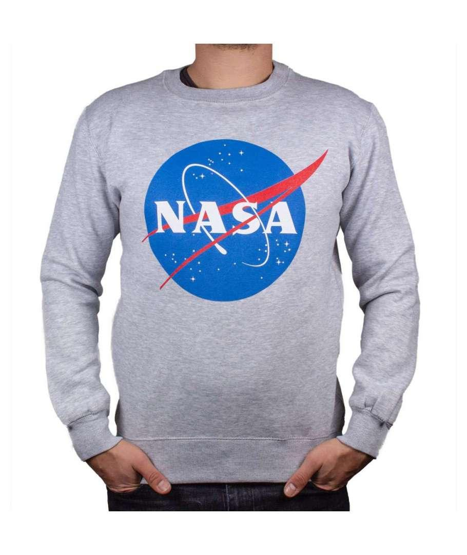 NASA - Sweat-Shirt Nasa Logo Grunge (S)