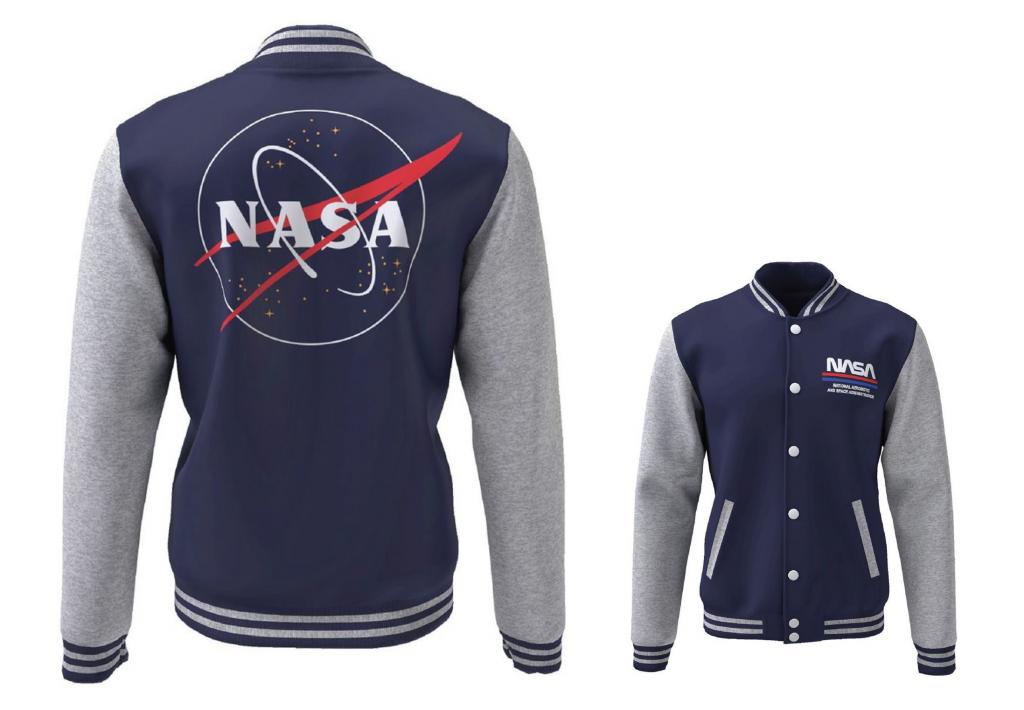 NASA - Blouson Teddy Logo (S)